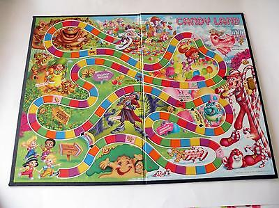 Candy Land Game - Game Board Replacement/Spare Part Only - Candyland