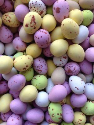 Milk Chocolate Mini Eggs 1 Kilo Assorted Colours Retro Wholesale Sweets