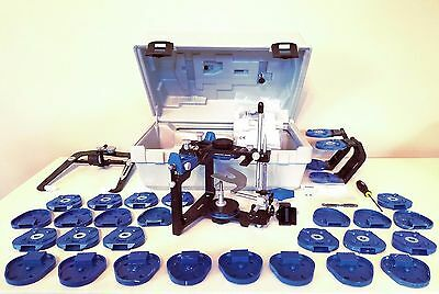 Panadent PSH Articulator, 30 plates, 4 PALs, Facebow, Mounting Accessories, Tool