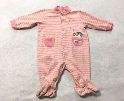 Carters John Lennon 3 6 Month Pink Real Love Sleeper Elephant Music Notes