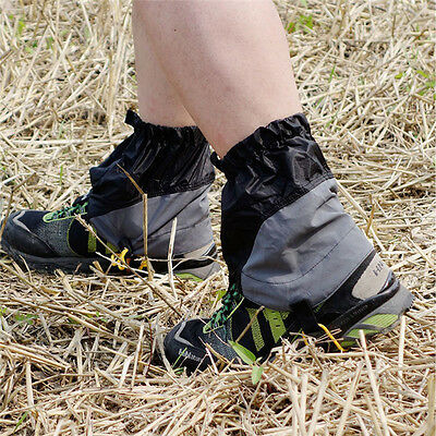 Waterproof Outdoor Shoes Gaiters Ultralight Ankle Foot Cover Hiking Skiing Sport
