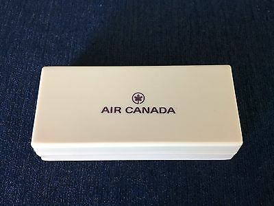 Vintage Air Canada Airlines Plastic Razor Case Disposible Gilette Razor