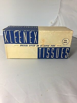 RARE VINTAGE FACIAL TISSUES 1938 Kimberly Clark KLEENEX UNOPENED Special Offer
