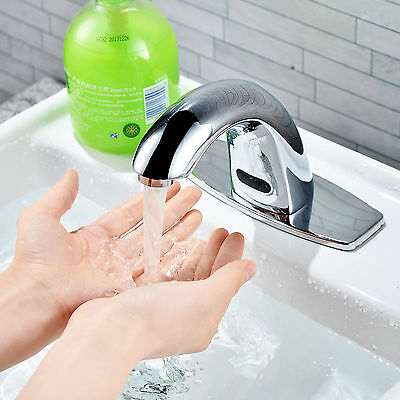 Electronic Sensor Activated Touchless Faucet