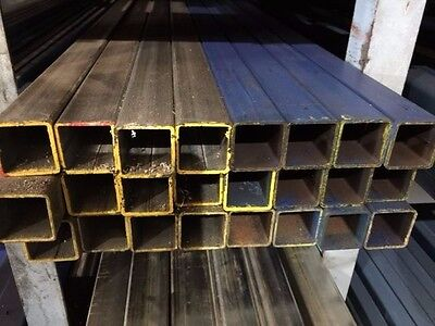 STEEL SQUARE TUBE SHS RHS 40mm X 40mm X 2mm X 8MTR