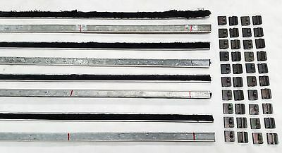 Ford Cortina Mk1 Lotus 4 Door Inner Outer Weather Strips Weatherstrips Clips