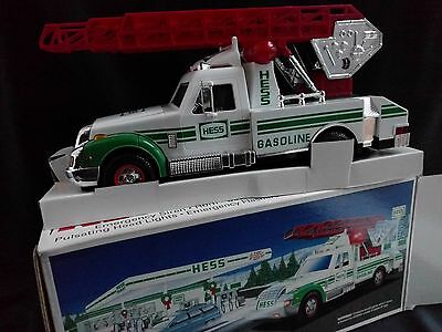 Nice Hess Rescue Truck W/ Box Packaging Instructions - Excellent Condition