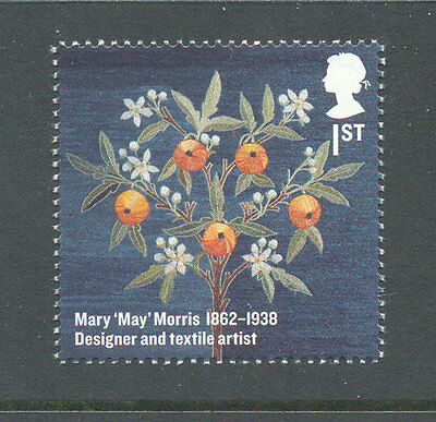 Embroidery-May Morris mnh -Art- single -Great Britain (3275)