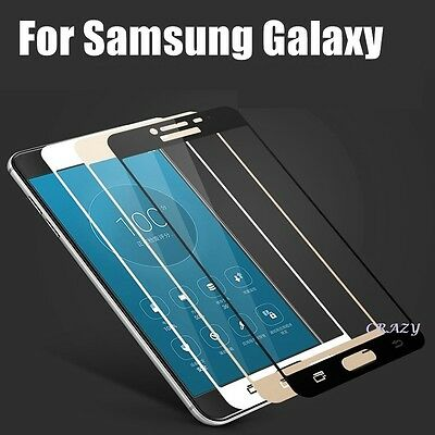 Full Cover Tempered Glass Screen Protector Film for Samsung Galaxy J5 J7 Prime