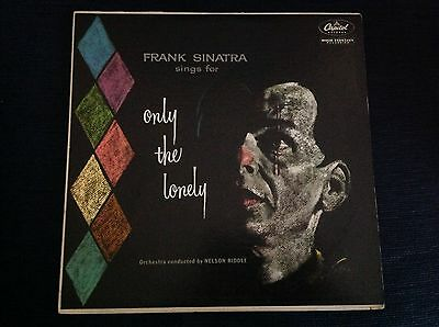 FRANK SINATRA ONLY THE LONELY 1958 USA Capitol LP Audiofile NM Unplayed Copy