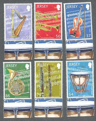 Jersey-Musical instruments-mnh set