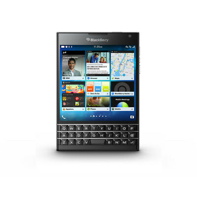 Blackberry Passport 4G (Clavier QWERTY) Désimlocké - Noir