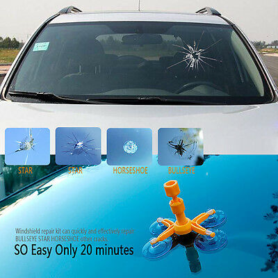 Car Auto Glass Windshield Scratch Repair Kits Chip Crack DIY Repair Tool Sets
