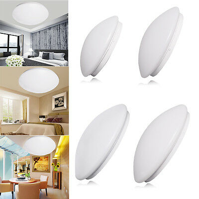 6W 12W 18W 24W Slim LED Oyster Surface Ceiling Light Cool White Round Lamp AU