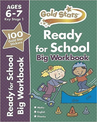 Gold Stars Ready for School Big Workbook Ages 6-7 (Gold Stars Ks1 Bumpers), New,