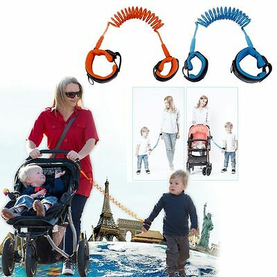 Toddler Kids Baby Anti Lost Safety Harness Walking Wire Rope Keeper Leash Tool
