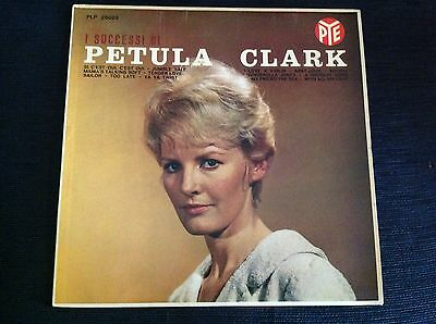 PETULA CLARK I SUCCESSI 1962 First Italy LP Impossible to find NM Promo Copy
