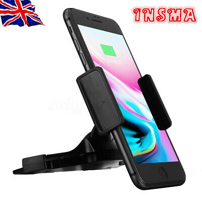 ALIGHTSTONE 360° Universal Car CD Slot Mount Holder Stand For Mobile Phone GPS
