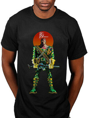 Official 2000AD Bad Company Soldier Unise T-Shirt Judge Death ABC Warriors Rogue