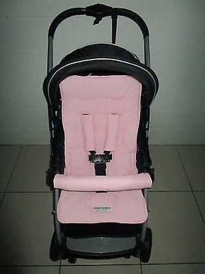FUNKY BABYZ-Pink reversible universal pram liner-Options-size & buy covers