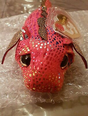 Plush Ty Tys Teeny chaser 1 collector new  limited edition with tag