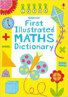 First Illustrated Maths Dictionary (Usborne Dictionaries), New, Kirsteen Rogers