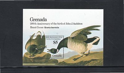 Grenada 1986 Centenary Birth of John Audubon miniature sheet SG MS1484 MUH