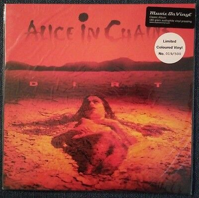 ALICE IN CHAINS – Dirt – AUDIOPHILE NUMBERED RED LP (LTD 500) – NEW & SEALED