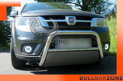 Fiat Freemont 2011-2017 Tubo Protezione Medium Bull Bar Inox Stainless Steel