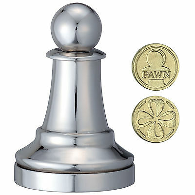 Cast Chess Pawn (Bauer)