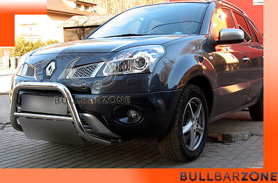 Renault Koleos 2007+ Tubo Protezione Medium Bull Bar Inox Stainless Steel