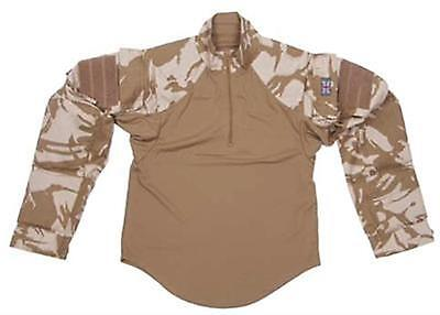 British Army Tropical Desert Ubacs Under Body Armour Combat Shirt New Unissued