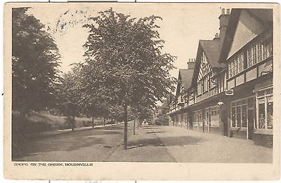 Shops on the Green, Bournville, Birmingham