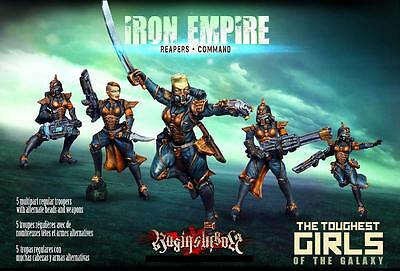 Raging Heroes The Iron Empire Reapers Command Box Set