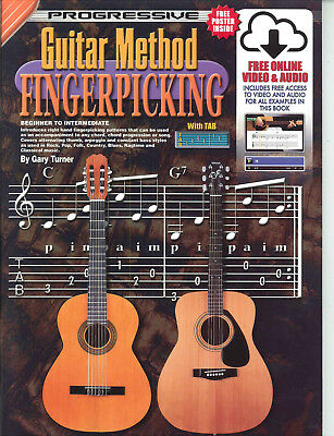 Progressive Guitar Method Fingerpicking +Cd & Dvd