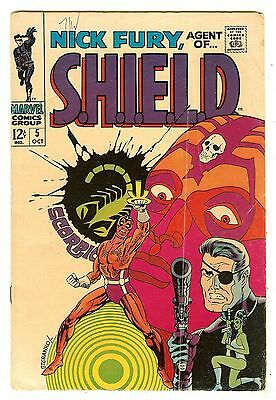 Nick Fury Agent Of Shield 5   Classic cover