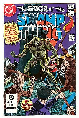 Saga Of The Swamp Thing 1   Phantom Stranger series begins