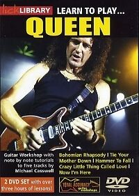 QUEEN LEARN TO PLAY Lick Library DVD