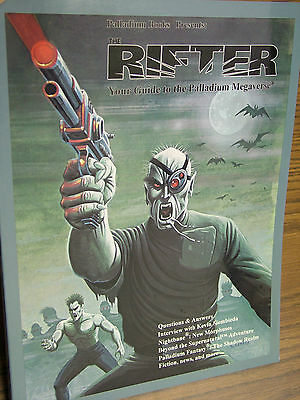Rifter # 20 - out of print -  Kevin Siembieda signature, 1st printing