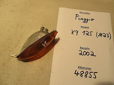 Original Piaggio X9 125 M23 Blinker vorne links 48.855