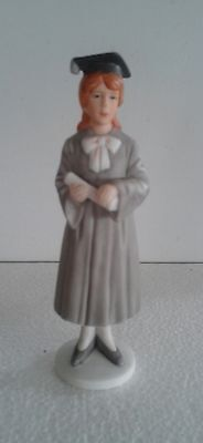 "1982 Enesco E-8815 Graduation Girl Figurine ""a Day To Remember"" Excellent Cond."