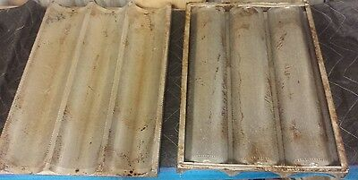 3 Loaf French Bread Pans - Lots of 5