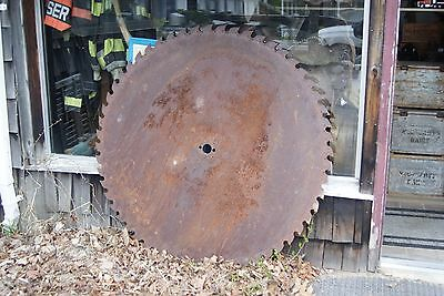 "52"" Useable Sawmill Blade Lumber Buzz Saw from Maine Mill FREE SHIPPING!"