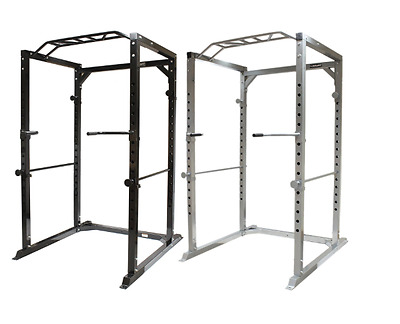 NEW Olympic Power Cage Squat Cages Pull Up Bar Weight Training Equipment Fitness