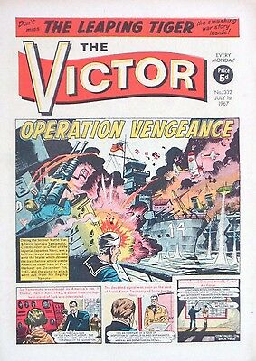 VICTOR - 1st JULY 1967 (26 June - 2 July)..RARE 50th BIRTHDAY GIFT !! VG+..eagle