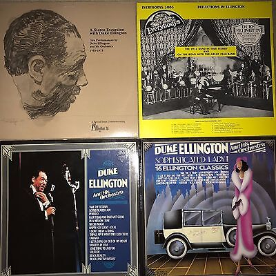 Duke Ellington 3 collectible LPs - All MINT or NEAR MINT condition vinyl & cover