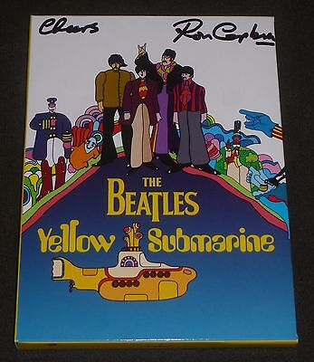 RON CAMPBELL SIGNED THE BEATLES YELLOW SUBMARINE DVD w/ PROOF! ANIMATOR MOVIE