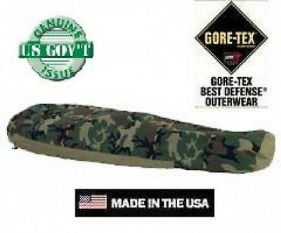 US Army Outdoor Sleeping bag Bivy Cover Schlafsack Woodland camouflage Hülle
