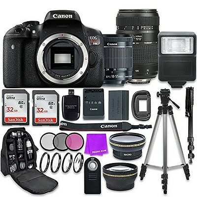 Canon EOS Rebel T6i 24.2MP WiFi Enabled Digital SLR Camera with EF-S 18-55mm