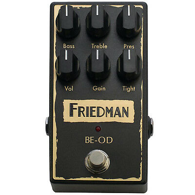 Friedman BE-OD Overdrive Distortion Pedal